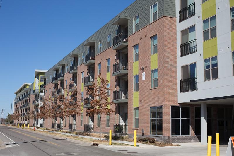 Metropolitan Apartments located at 800 N Oklahoma Ave in Oklahoma City, OK.