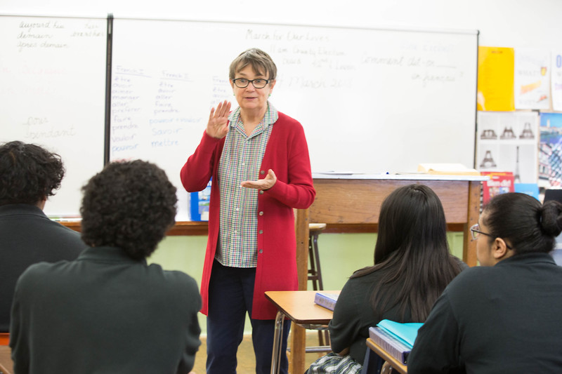 Sally Ziebell teaches World Languages at Harding Charter School located at 3333 N Shartel Ave in Oklahoma CIty.