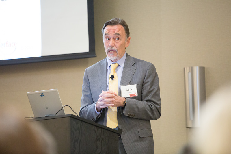 Robert Anda was the first speaker at the Potts Family Foundation's Raising Resilient Oklahomans Summit held at the Edmond Convention and Visitors Bureau located at 2901 Converance Drive in Edmond, OK.