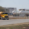 A tank truck leaving a Magellen Midstream Partners fuel terminal located at 251 N Sunnylane Road in Oklahoma CIty.