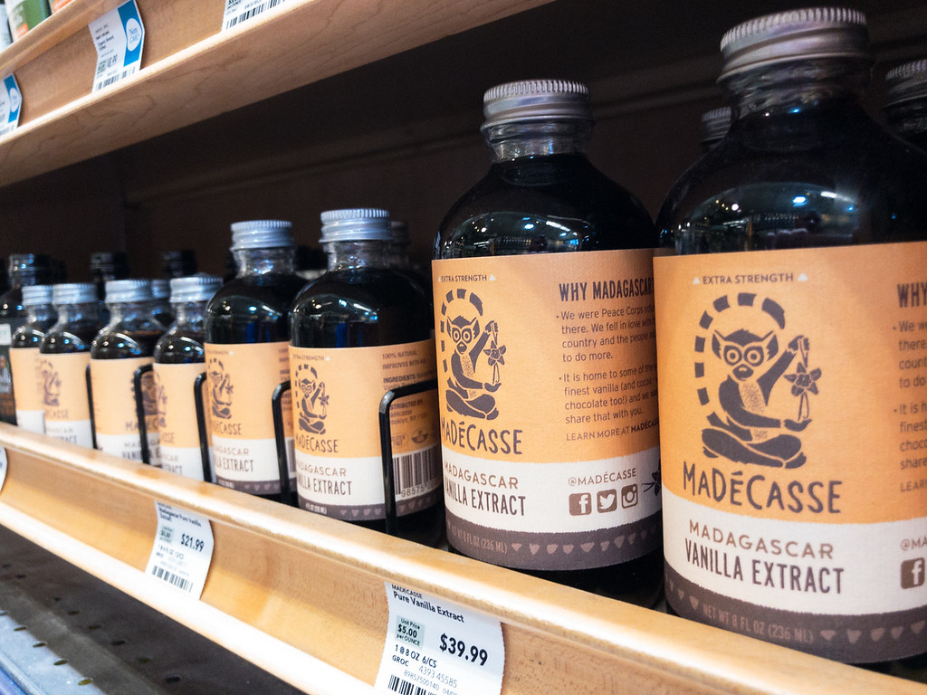 Vanilla extract at Whole Foodsgrocery store in Oklahoma City.