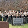 Troop 97 paying respects Veterans Day