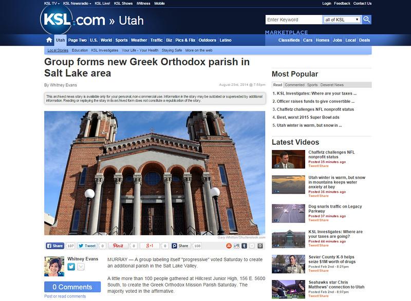 KSL Channel 5 Website - Salt Lake City - Utah
