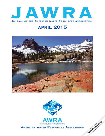 Journal of the American Water Resources Association - April 2015. Photo of Sundial Peak and Lake Blanche in the Wasatch Mountains of Utah