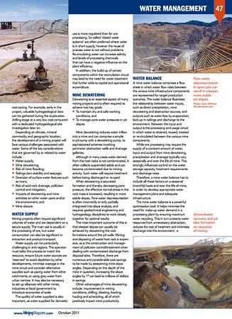 Mining Magazine - October 2011