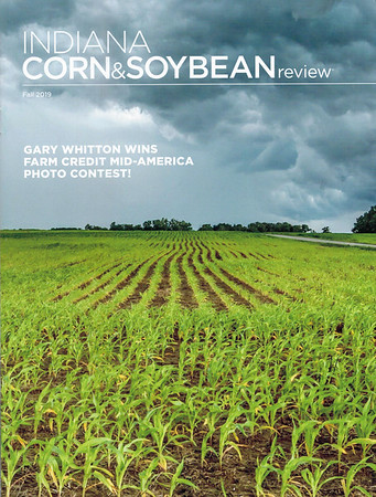 Fall 2019 Award Winning Cover Photo - Indiana Corn & Soybean Review