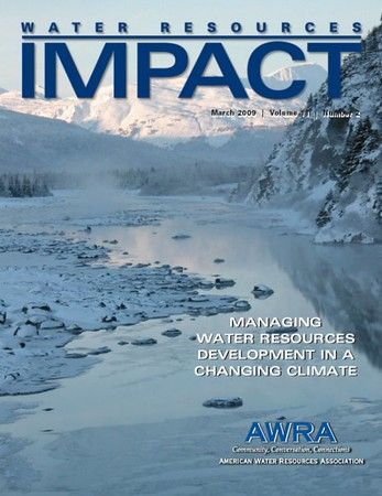 2009 Water Resources IMPACT Cover