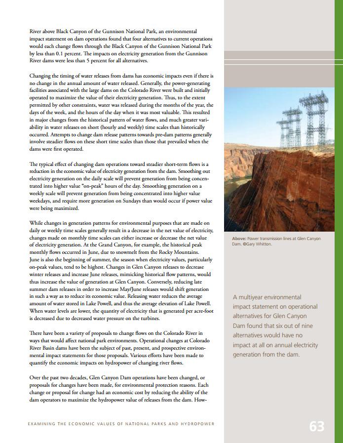 National Parks Conservation Association Publication 2011