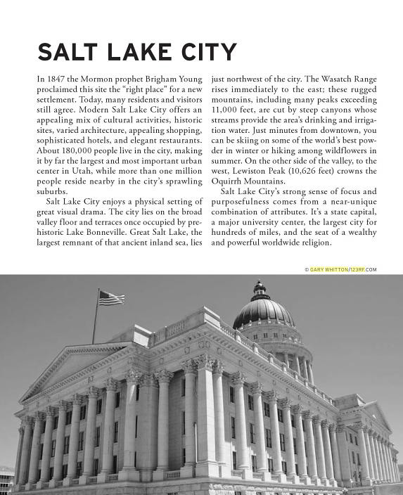 Moon Guidebook -  Spotlight Salt Lake City & Park City