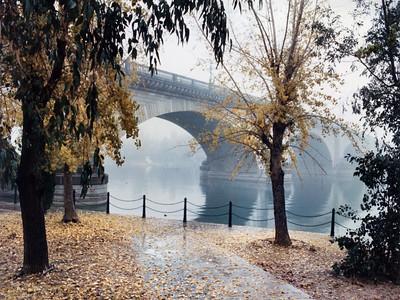 London Bridge Fog
