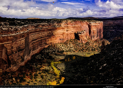 Featured photo, September 2016, Colorado National Monument Association calendar
