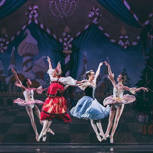 Nutcracker Ballet Dress Rehersal