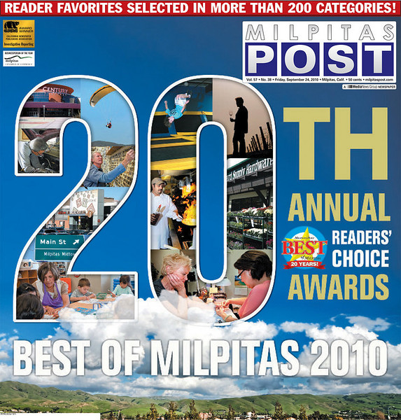 Milpitas Post Best of 2010 Cover