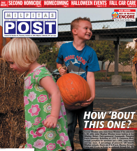 <strong>Cover - October 22, 2009</strong>