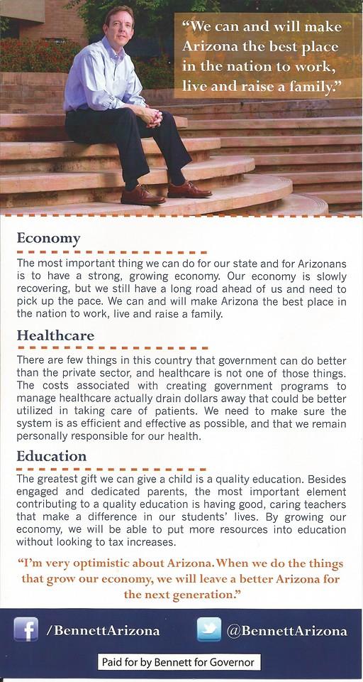 Ken Bennett for Governor 2014