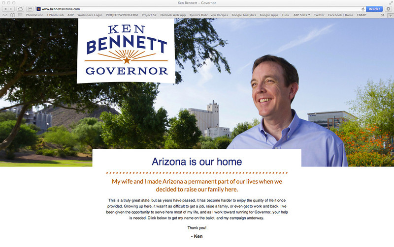 Ken Bennett for Governor