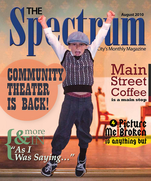 August Cover - The Spectrum