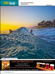 A feature shot of Rincon published in Jan/Feb 2015 issue of Deep Magazine.