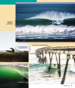 A shot of an unknown surfer published in June 2015 issue of Deep Surf Magazine.