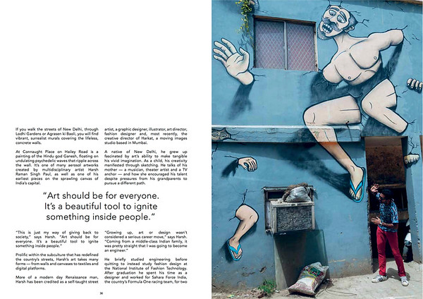 Majestic Disorder Issue 7, Harsh Raman, New Delhi Street Art