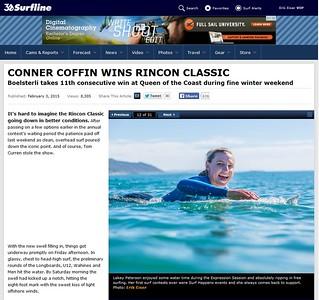 Surfline: Rincon Classic 2015 Feature