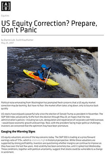 US Equity Correction? Prepare, Donâ•Žt Panic - Context | AB
