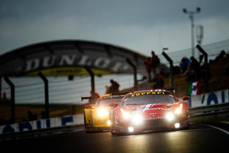#85 KEATING MOTORSPORTS / USA / Ferrari 488 GTE - 24 hours of Le Mans  - Circuit de la Sarthe - Le Mans - France -