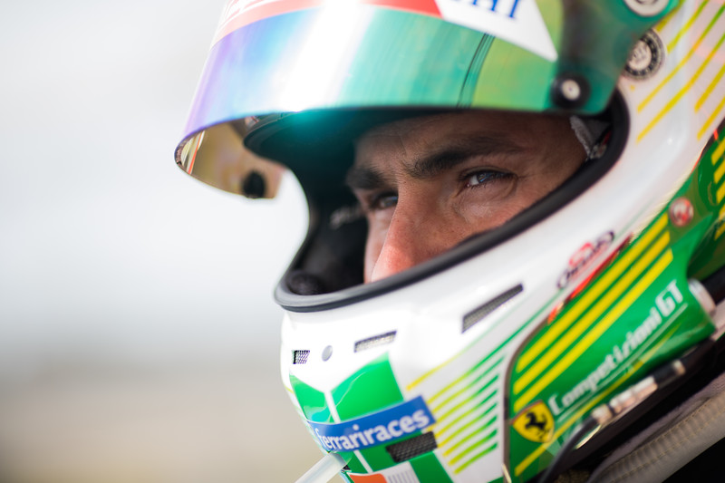 #71 AF CORSE / ITA / Ferrari 488 GTE / Davide Rigon (ITA) -WEC Prologue at Circuit Paul Ricard - Circuit Paul Ricard - Le Castellet - France -
