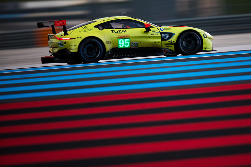 #95 ASTON MARTIN RACING / GBR / Aston Martin Vantage AMR -WEC Prologue at Circuit Paul Ricard - Circuit Paul Ricard - Le Castellet - France -