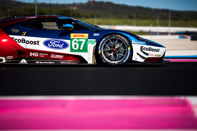 #67 FORD CHIP GANASSI TEAM UK / USA / Ford GT -WEC Prologue at Circuit Paul Ricard - Circuit Paul Ricard - Le Castellet - France -