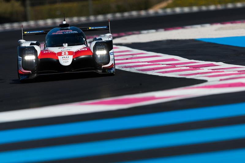 #8 TOYOTA GAZOO RACING / JPN / Toyota TS050 - Hybrid - Hybrid -WEC Prologue at Circuit Paul Ricard - Circuit Paul Ricard - Le Castellet - France -