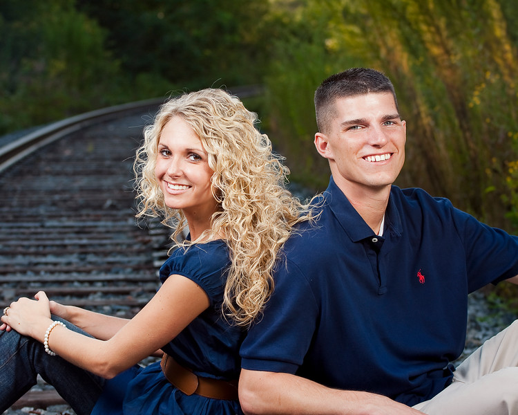 Frank Lisk Park Engagement Shoot