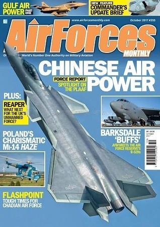 Airforces Monthly October 2017