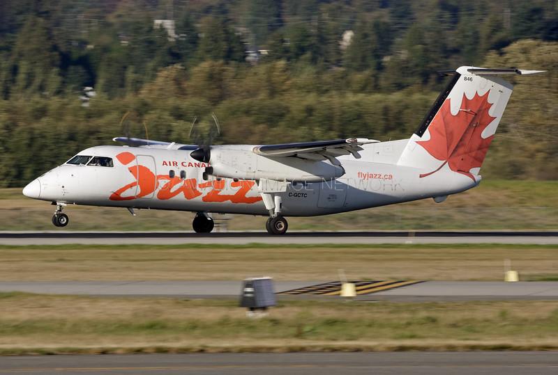 C-GCTC   de Havilland Canada Dash 8-102   Air Canada Jazz