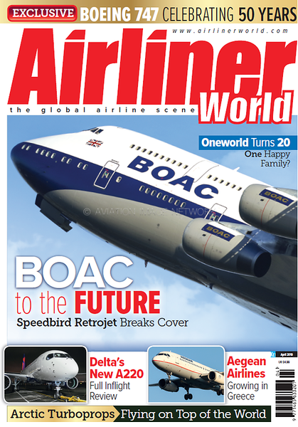 Airliner World April 2019