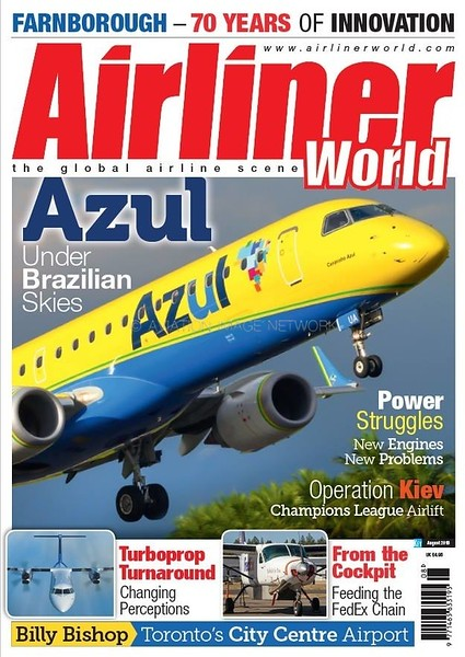 Airliner World August 2018