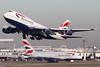 G-BYGE | G-XLED | Airbus A380-841 | Boeing 747-436 | British Airways