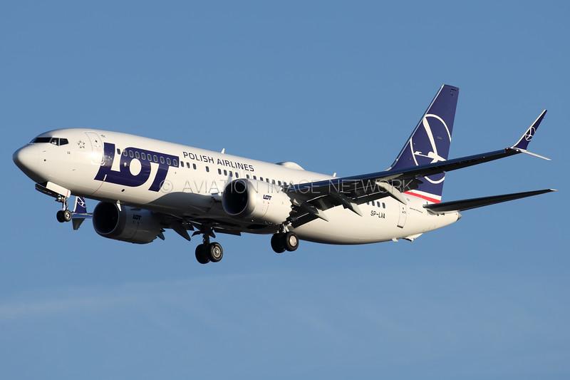 SP-LVA   Boeing 737 MAX 8   LOT Polish Airlines