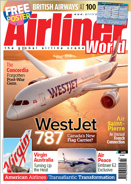 Airliner World July 2019