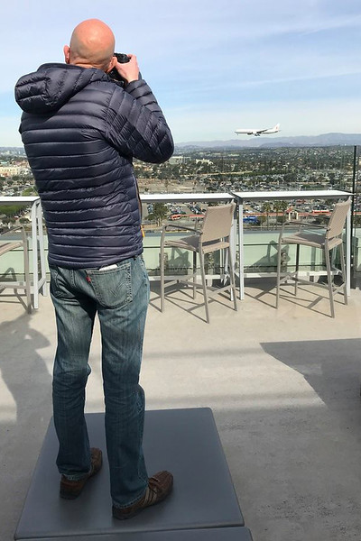 "The H Hotel Los Angeles International Airport Rooftop Terrace ""H Overlook"""