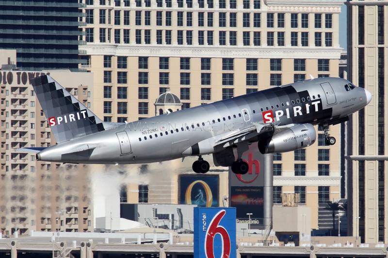 N522NK   Airbus A319-132   Spirit Airlines