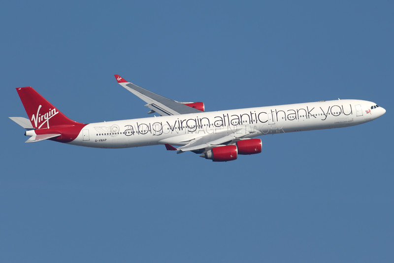 G-VNAP   Airbus A340-642   Virgin Atlantic