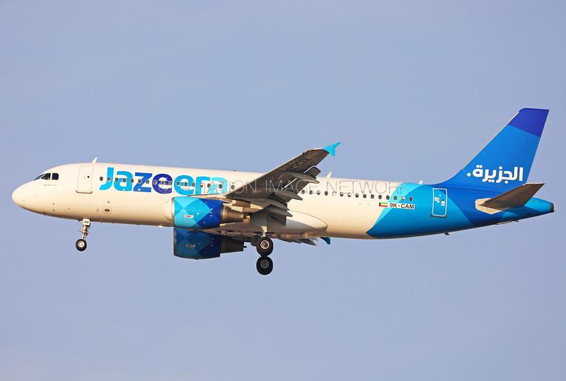 9K-CAM   Airbus A320-214   Jazeera Airways