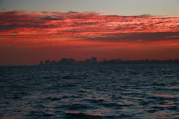 Havana Skyline at Sunrise 2005