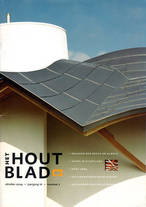 Het Hout Blad - cover & feature