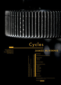 James McVinnie-Cycles-Poster A2-©Bigg:Cunha