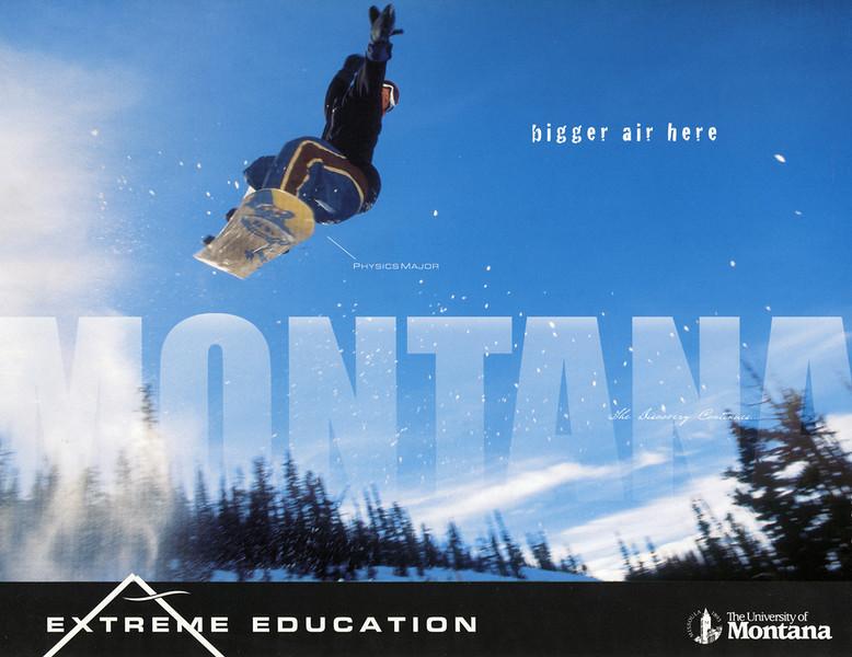 University of Montana Ad