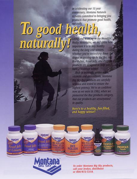 Montana Naturals Ad