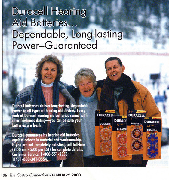 Duracell Battery Advertisement