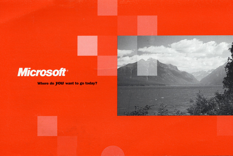 Microsoft Advertisement